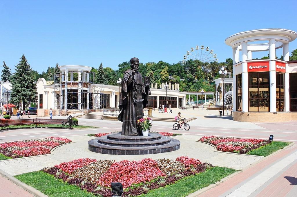 Картинки с памятником города ессентуки